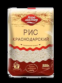 Агромастер Рис шлифованный краснодарский 800гр*10