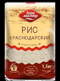 Агромастер Рис шлифованный краснодарский 1500гр*8