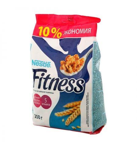 """Готовый завтрак """"Нестле"""" Фитнес хлопья из цельной пшеницы пакет 250г"""