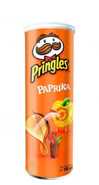 Чипсы Pringles паприка 165гр