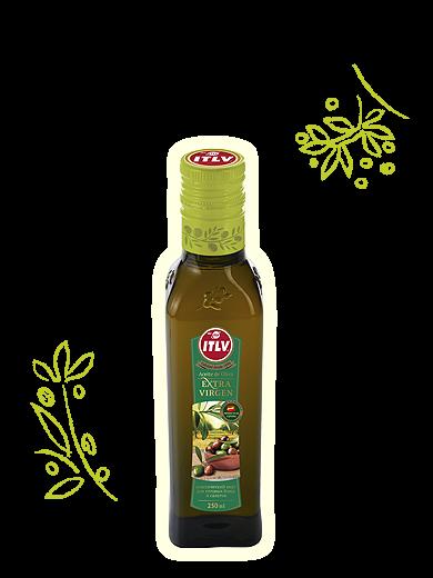 "Масло оливковое ""ITLV"" Extra Virgen ст/б 0,25л"