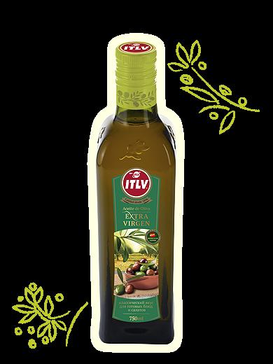"Масло оливковое ""ITLV"" Extra Virgen ст/б 0,5л"
