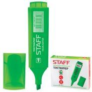 Текстмаркер 1-5мм STAFF зеленый скошенный након/12 150727