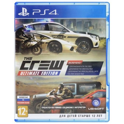 Игра The Crew Ultimate Edition (PS4)