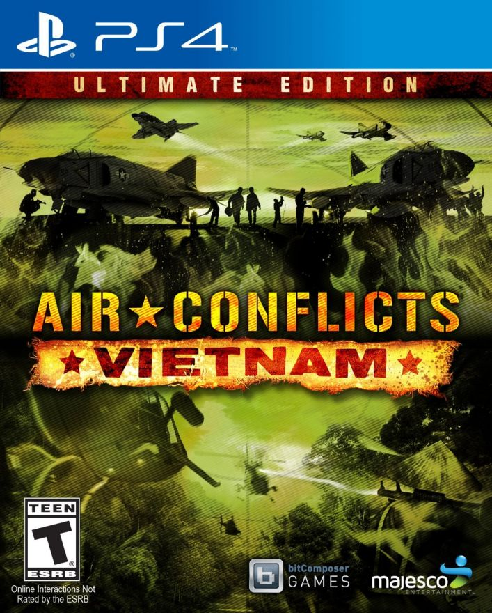 Игра Air Conflicts Vietnam Ultimate Edition (PS4)