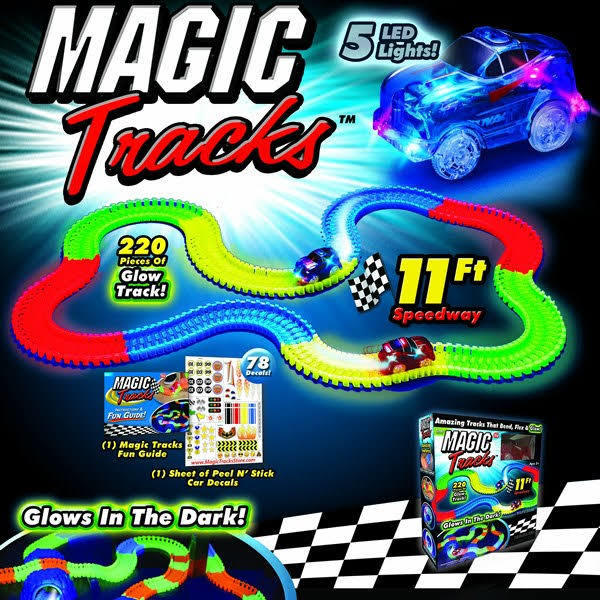 Бюджетная копия Magic-Tracks 220 деталей.