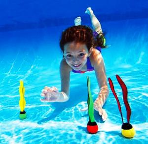 Мячи для подводного плавания, 3 шт в наборе