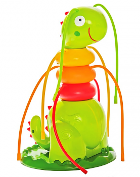 Надувная игрушка-фонтан Гусеничка, 18х17х27 см