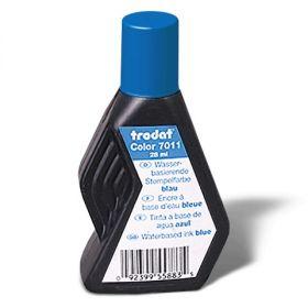 Штемпельная краска синяя 28мл TRODAT вод основа/10 7011С