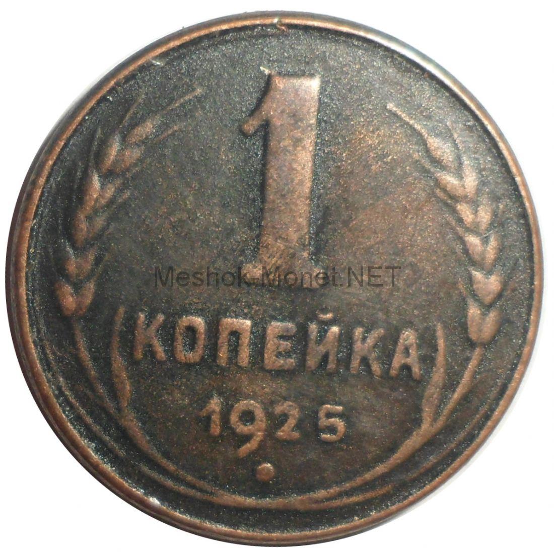 Копия монеты 1 копейка 1925 года