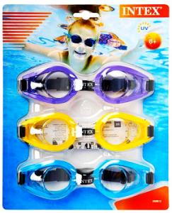 Набор из трех очков для плавания