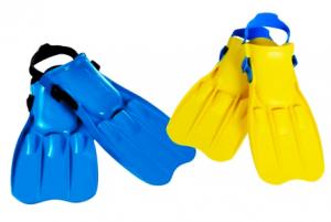 Ласты для плавания Средние, размер 38-40