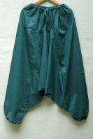 темно зеленые мужские штаны алладины (афгани) из хлопка, Москва, интернет магазин