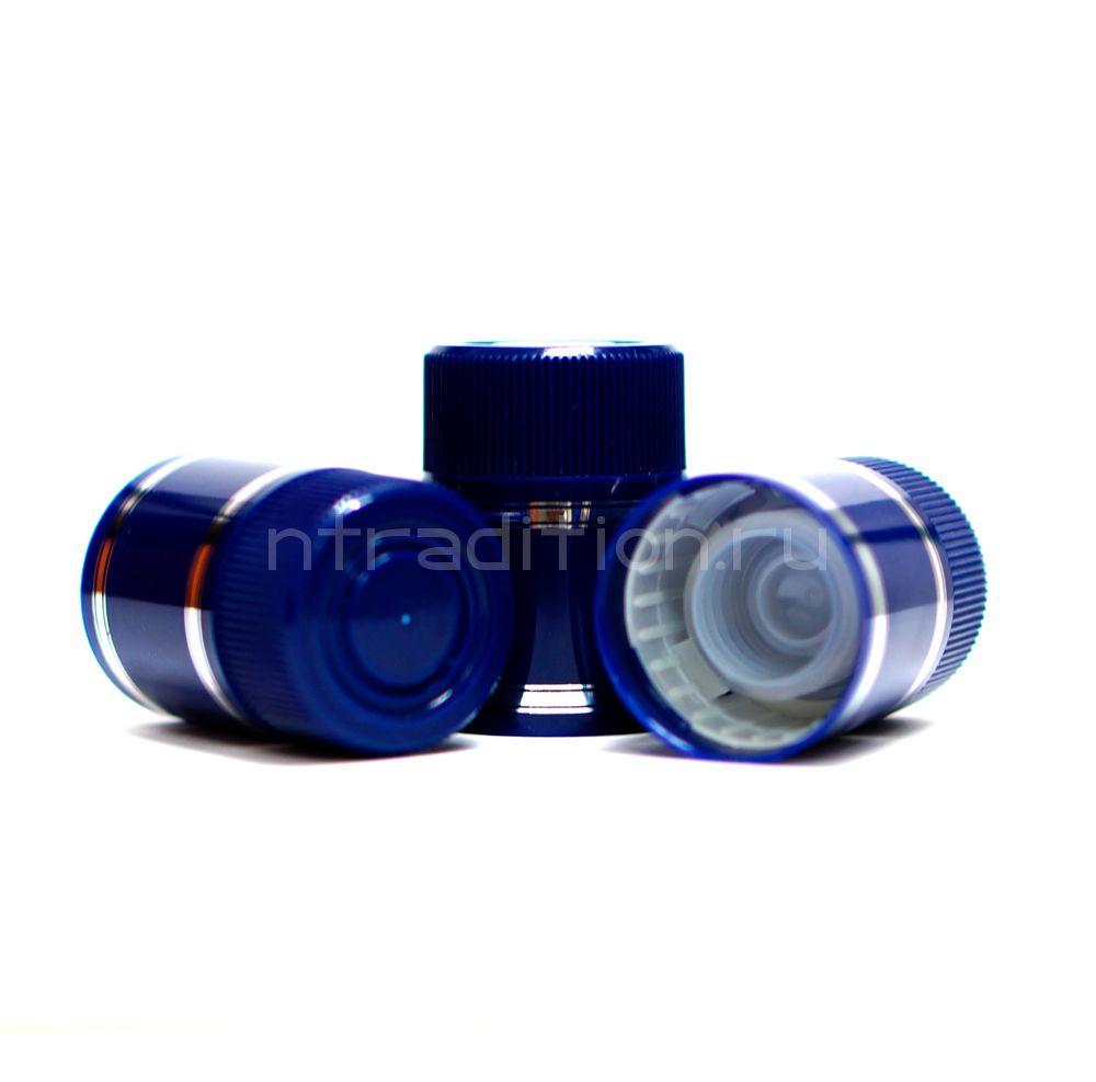 Колпачок с дозатором Гуала - синий 47 мм (10 шт.)