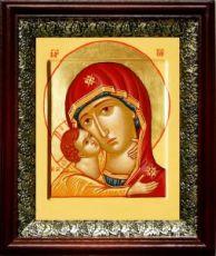Игоревская икона БМ (19х22), темный киот