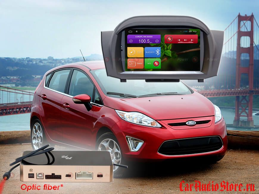 Redpower 31141 Ford Fiesta (2015+) (с DVD приводом)
