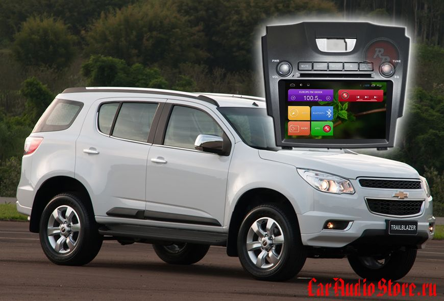 Redpower 21022 Chevrolet TrailBlazer (2012+)