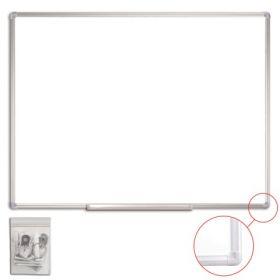 Доска магнитно-маркерная STAFF, 90×120 см, алюминиевая рамка 235463