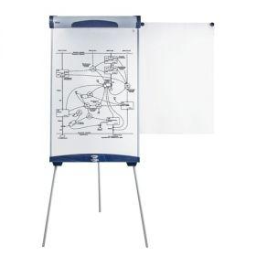 Доска-флипчарт BRAUBERG магн-маркерная, 70×100 см, с боков. держателями для бумаги 232301