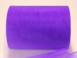Фатин мягкий, ширина 15 см, бобина 100 ярдов, цвет: R29 фиолетовый