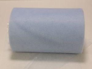 Фатин, средняя жесткость, ширина 15 см, бобина 100 ярдов, цвет: C19 голубой