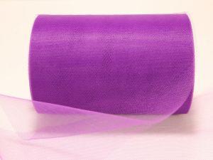 Фатин, средняя жесткость, ширина 15 см, бобина 100 ярдов, цвет: C27 темно-фиолетовый