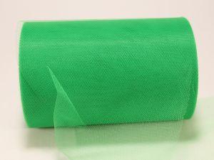 Фатин, средняя жесткость, ширина 15 см, бобина 100 ярдов, цвет: C34 зеленый