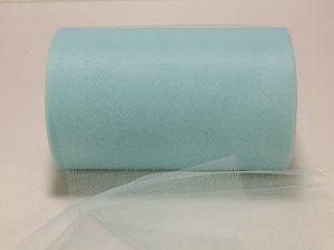Фатин, средняя жесткость, ширина 15 см, бобина 100 ярдов, цвет: C41 светло-бирюзовый