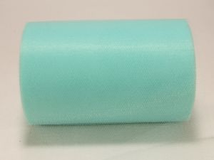 Фатин, средняя жесткость, ширина 15 см, бобина 100 ярдов, цвет: C42 бирюзовый