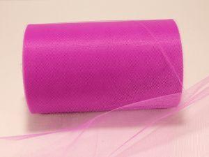 Фатин, средняя жесткость, ширина 15 см, бобина 100 ярдов, цвет: C49 фиолетовый