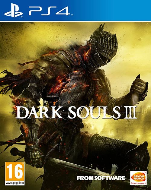 Игра Dark Souls 3 (III) (PS4)