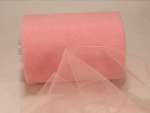 `Фатин мягкий, ширина 15 см, цвет: R08 розовый
