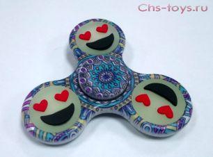 Спиннер Spinner цветной смайлик