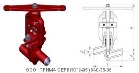 Вентиль дроссельный Ду 20 1031-20-0
