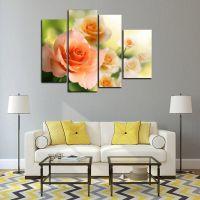 Модульная картина Прелестные розы
