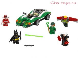 Конструктор Lari Бэтмен Гоночный автомобиль Загадочника 10630 (70903) 282 дет