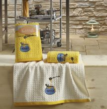 "Кухонные полотенца ""KARNA"" LEMON 45x65 - 2 шт. Арт.2231-3"