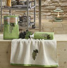 "Кухонные полотенца ""KARNA"" LEMON 45x65 - 2 шт. Арт.2230-1"