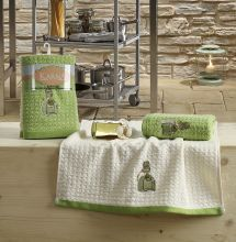 "Кухонные полотенца ""KARNA"" LEMON 45x65 - 2 шт. Арт.2230-3"