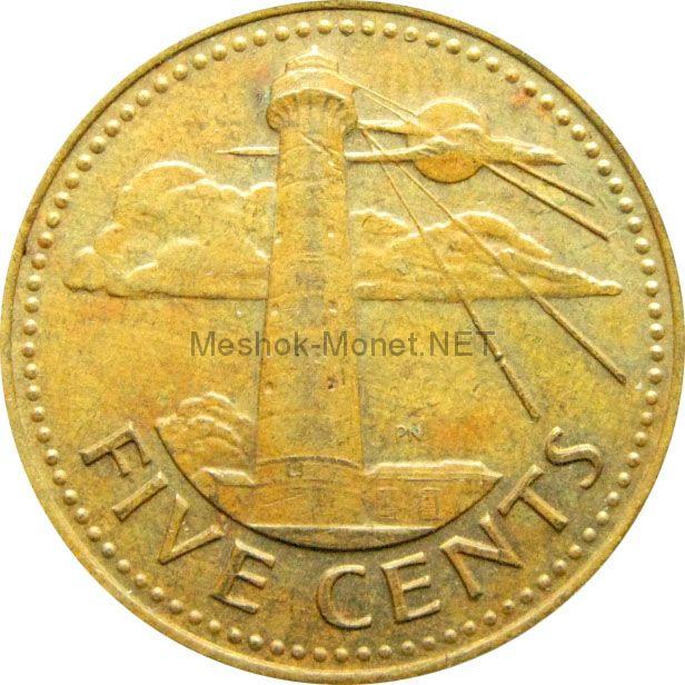 Барбадос 5 центов 1999 г.