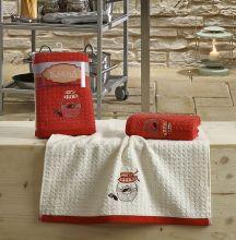 Кухонные полотенца LEMON (45*65)*2  Арт.2229-3