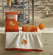 "Кухонные полотенца ""KARNA"" LEMON 45x65 - 2 шт. Арт.2232-1"