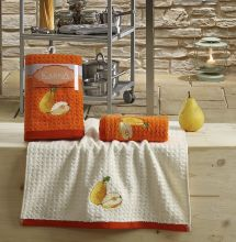 "Кухонные полотенца ""KARNA"" LEMON 45x65 - 2 шт. Арт.2232-3"