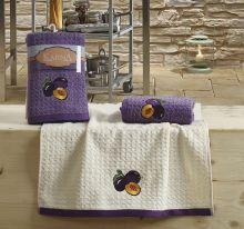 "Кухонные полотенца ""KARNA"" LEMON 45x65 - 2 шт. Арт.2233-3"