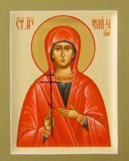 Неонилла Сирийская (рукописная икона)