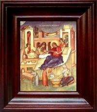 Рождество Пресвятой Богородицы (21х24), простой киот