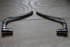 Рычажки Zundapp хром