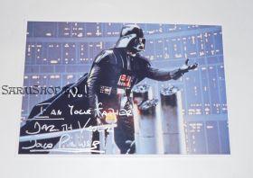 Автограф: Дэвид Праус. Звездные войны