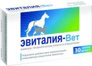 Фармакс Эвиталия-Вет Кормовая добавка-синбиотик для кошек и собак (30 табл.)