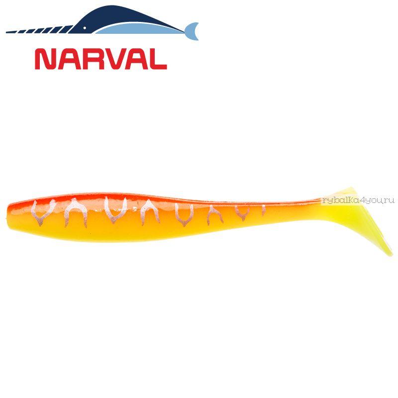 Купить Мягкие приманки Narval Choppy Tail 10sm #009 Sunset Tiger (5 шт в уп)